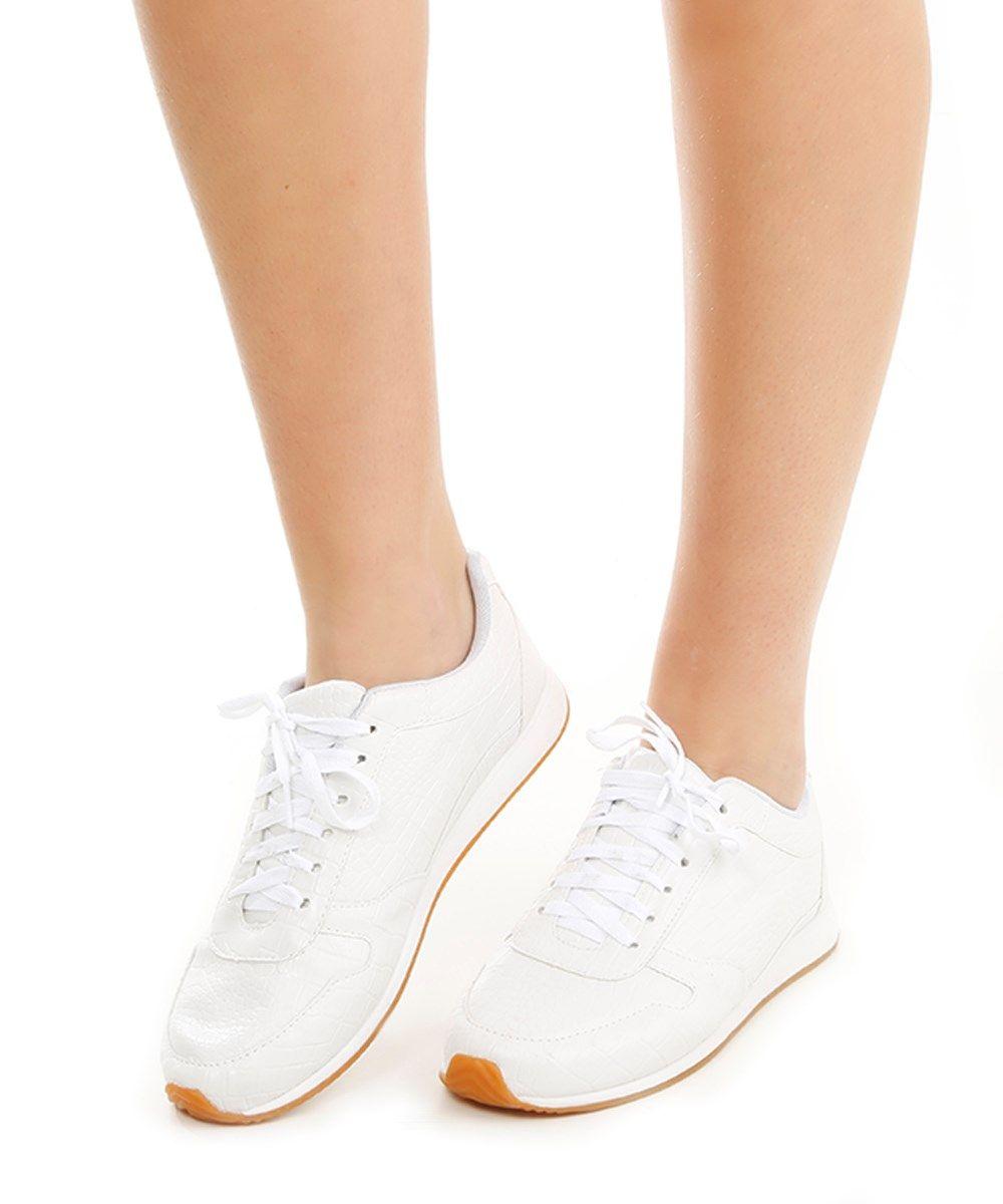 345dcc21e Tênis Croco Branco - cea | sapatos in 2019 | Tenis, Sapatos, Comprar ...