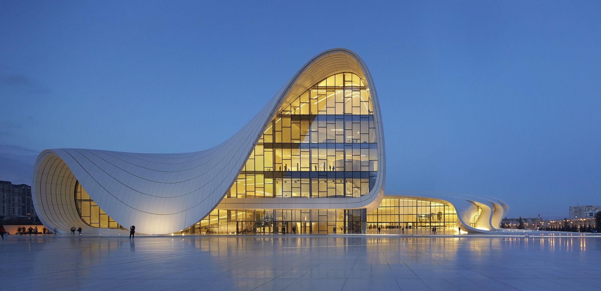 Gallery Of Heydar Aliyev Center Zaha Hadid Architects 26 Zaha Hadid Design Zaha Hadid Zaha Hadid Architects