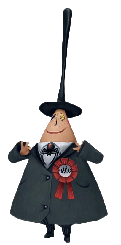 ed68412bd0f  THE MAYOR ~ Halloween Town - The Keyhole  Ye Olde Kingdom Hearts Fansite   The two-faced mayor of Halloween Town. He switches from his happy face to  his sad ...