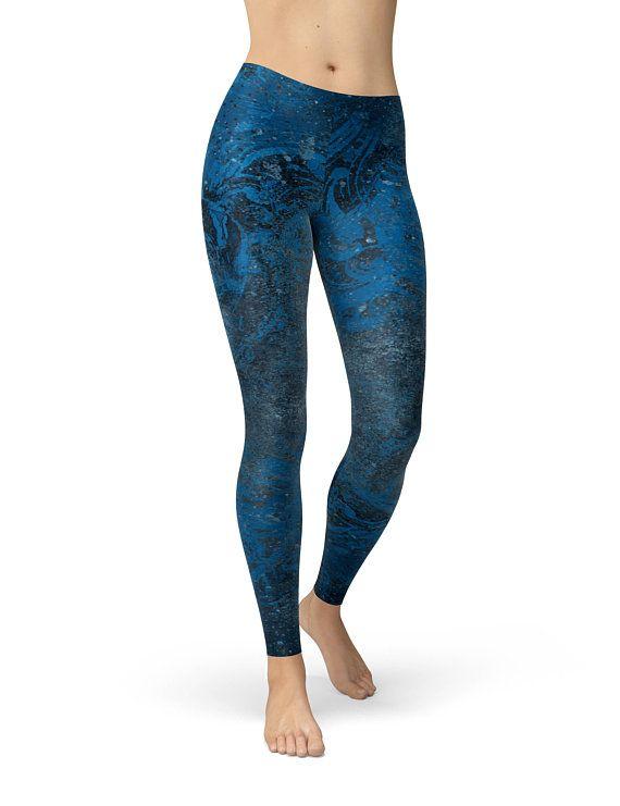 e5f3c53284 Yoga Pants Yoga Leggings Bohemian Printed Leggings Grunge Print Leggings  Womens Leggings Workout Pan