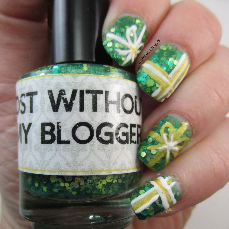 Lustrous Lacquer: The 12 Days of Christmas Nail Art Challenge Day 11 ...