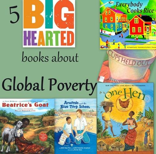 Visit our list of picture books about global hunger and poverty.