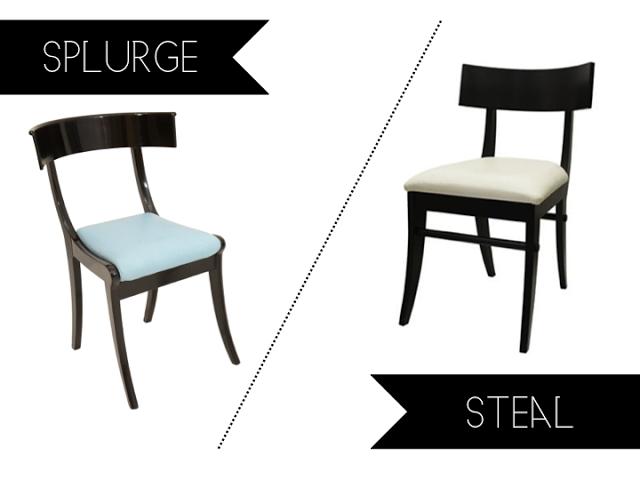 Splurge Vs Steal Sunday: Klismos Chair Michael Graves Design, Jcpenney, Jcp,  Budget