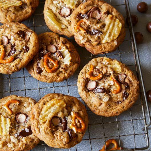 Kitchen Sink Cookies | Spoon Fork Bacon
