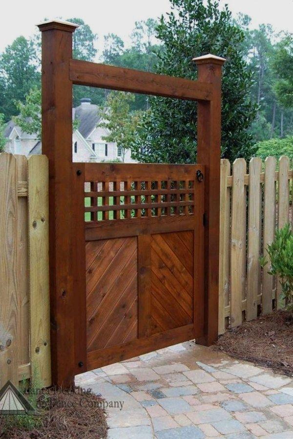 50 Easy Garden Gate Plans To Build To Complete Your Gardens | Garden Gate  Ideas Design No. 12976 | #gardening #garden_gate #arbor | Garden Gate Ideas  ...