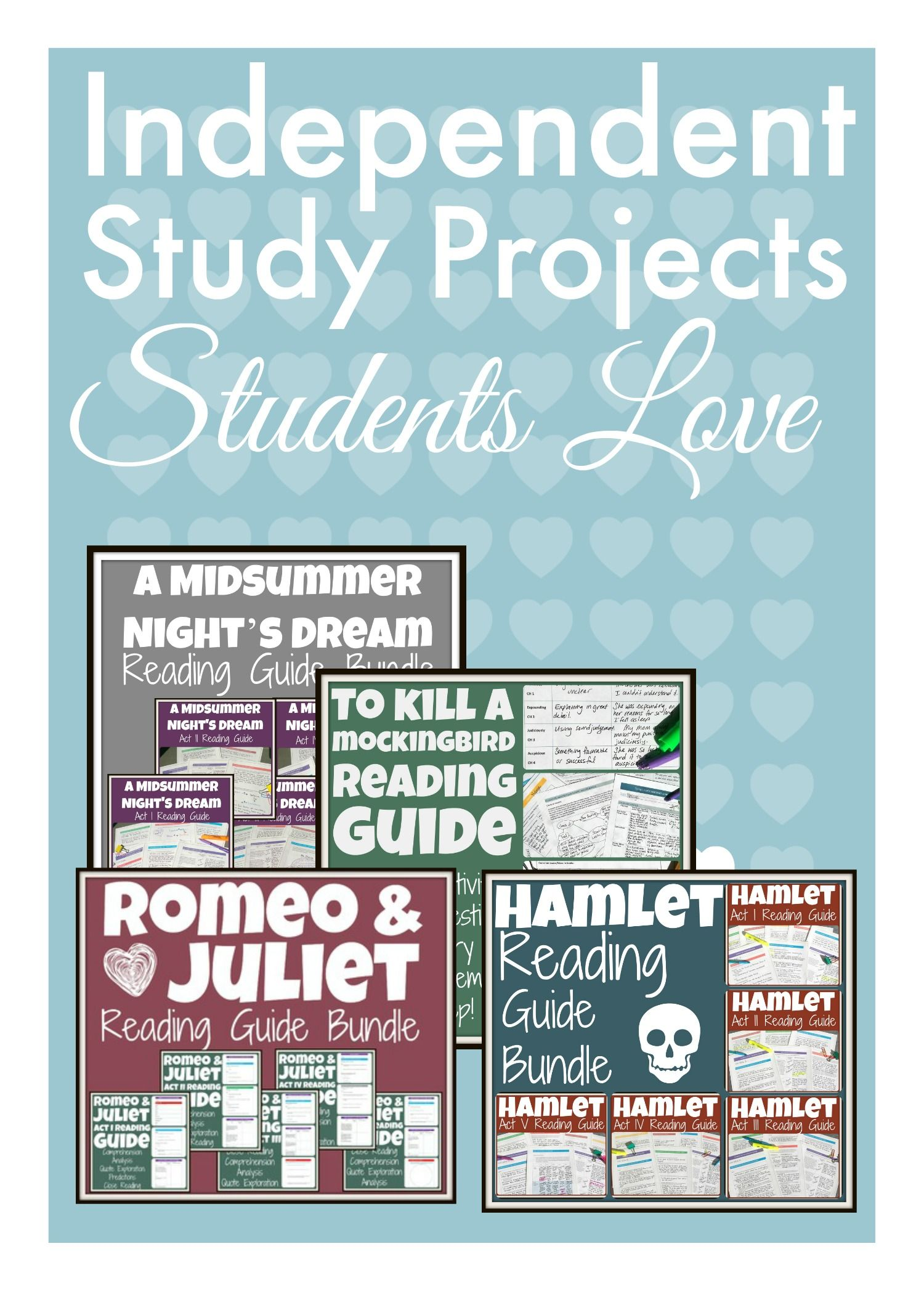 Independent Study Projects For The High School English