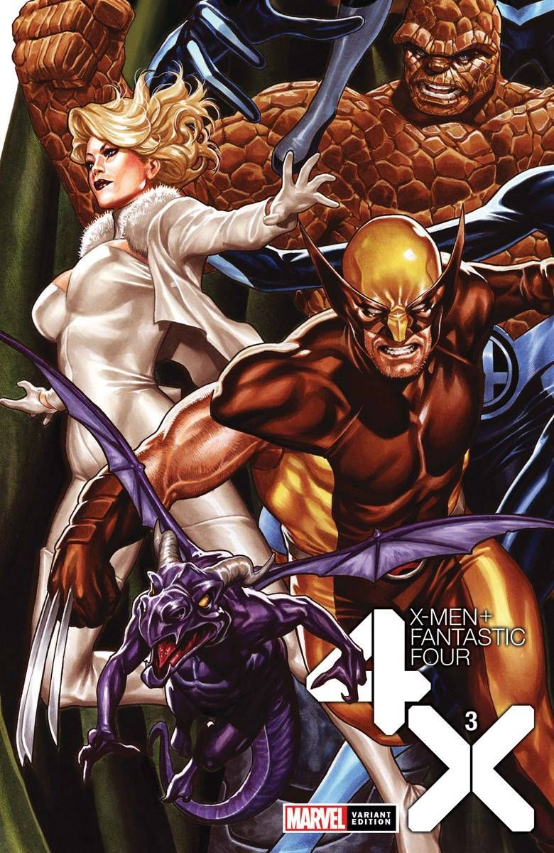 X Men Fantastic Four 3 In 2020 Fantastic Four X Men Marvel Comics Funny
