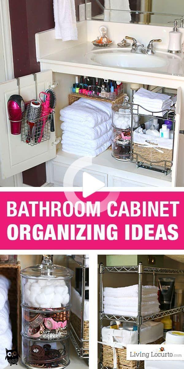 Photo of Organizar ideas rápida para su cuarto de baño! #bathroomorganizationdiy