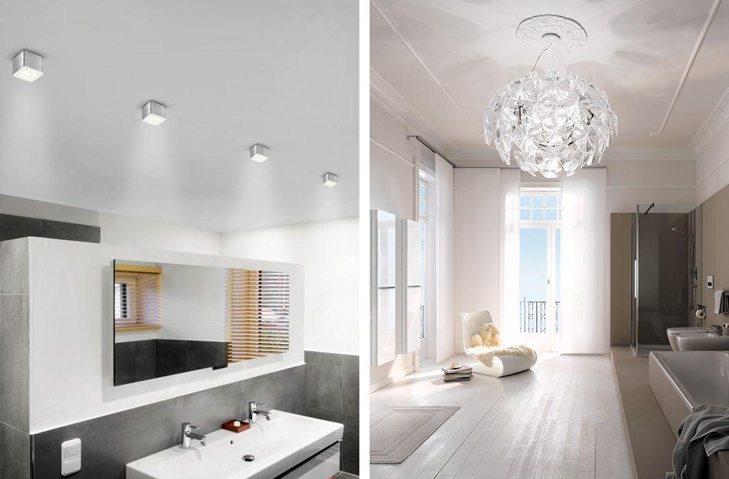 Bildergebnis für beleuchtung badezimmer ratgeber lampen