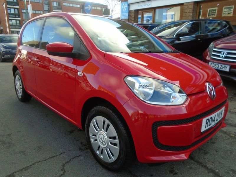 2014 Red Volkswagen Up 1 0 Move Up 5dr For Sale For 4694 In