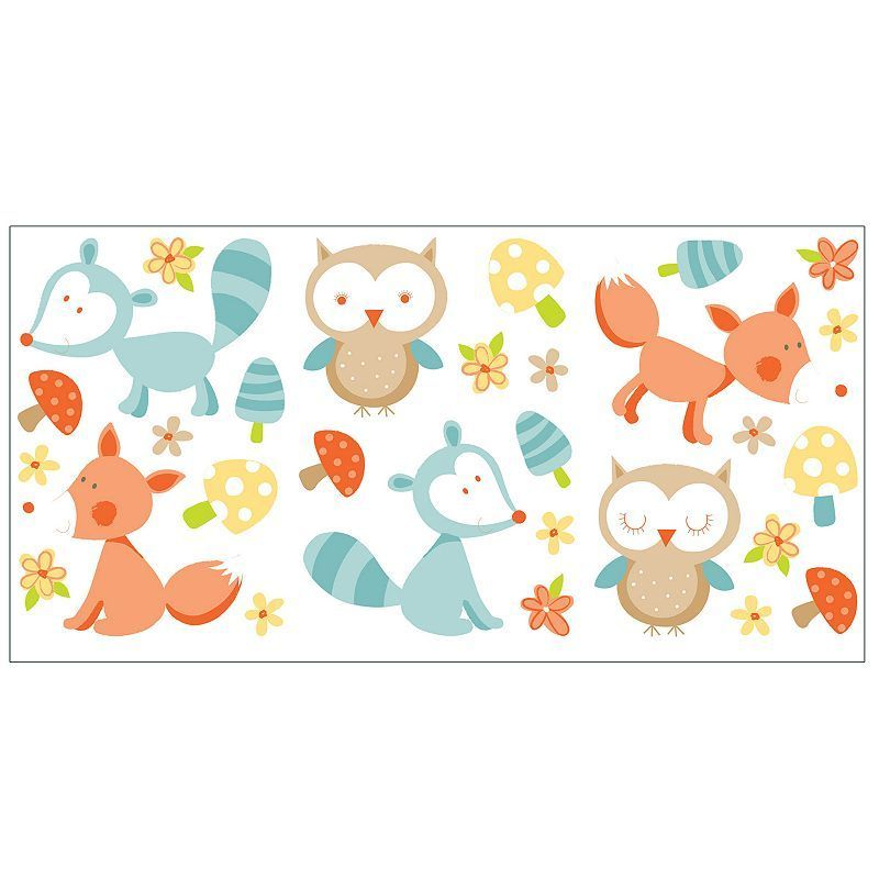 Forest Friends Peel & Stick Wall Decals Forest friends