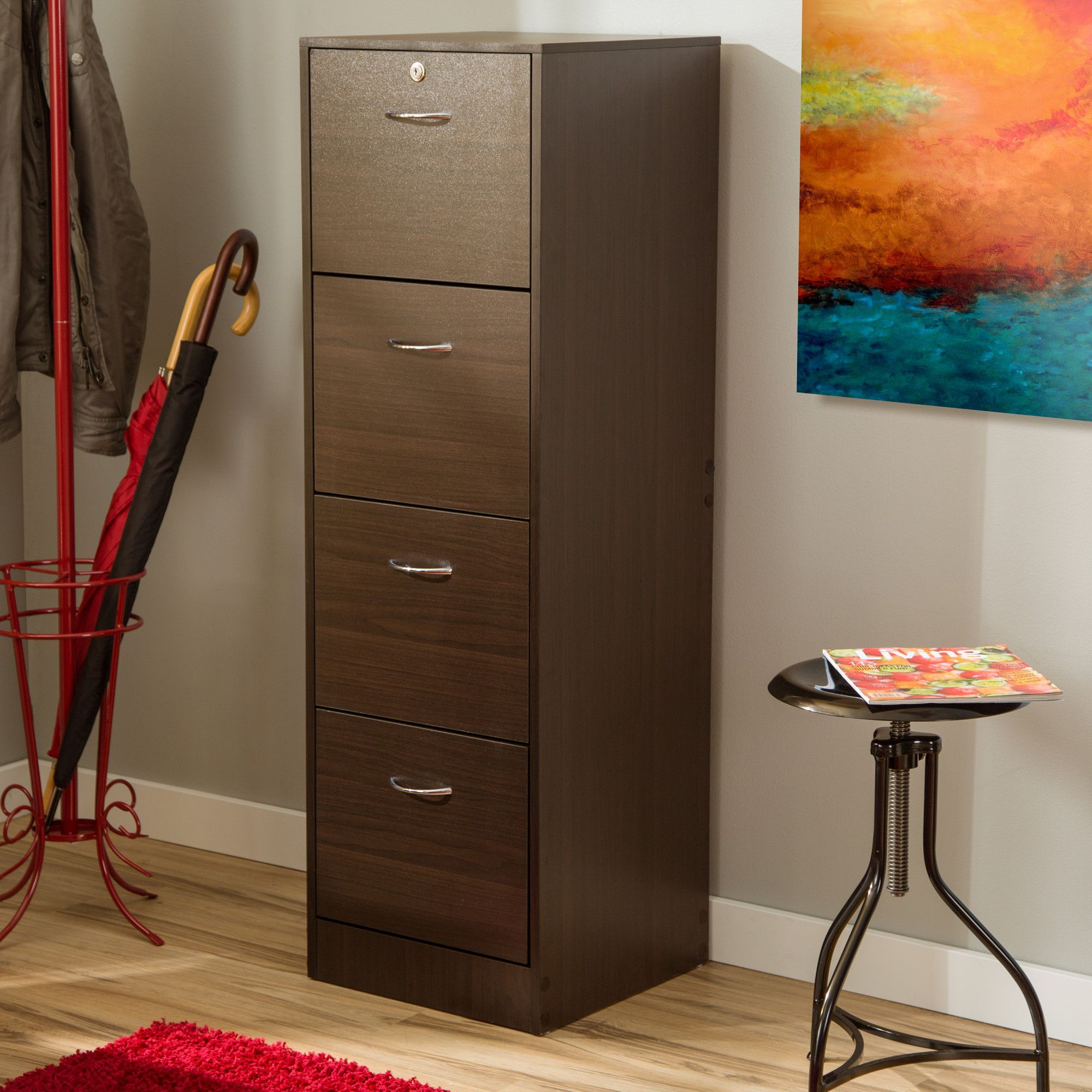 4 Drawer Filing Cabinet Products Pinterest