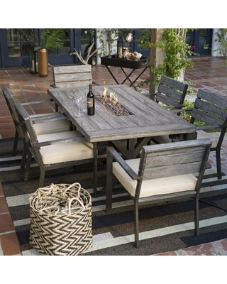 Patio Furniture With Fire Pit On Sale