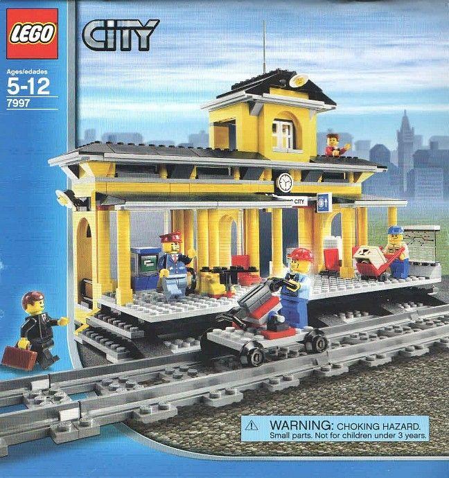 7997 1 Train Station Lego City Sets Lego Trains Lego Train Station