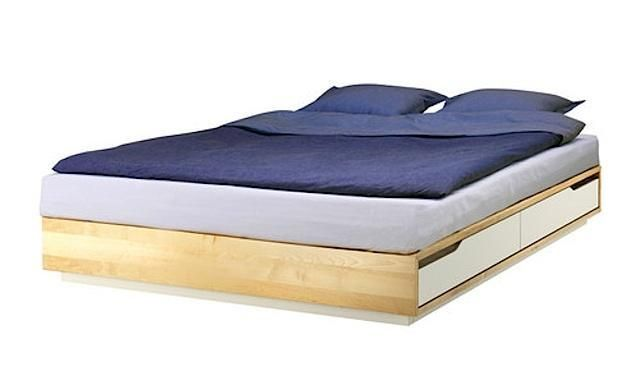 10 Easy Pieces Essential Wooden Beds With Images Ikea