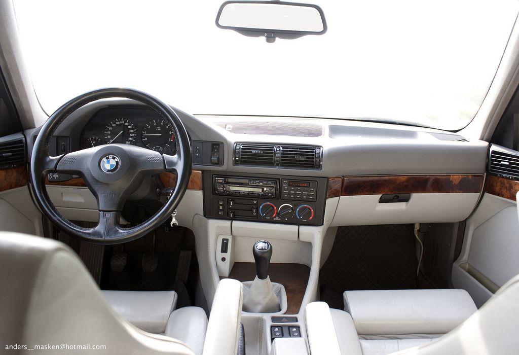 Bmw 540i 6 Speed 128 797 E34 Bmw Interior Bmw E34 Bmw