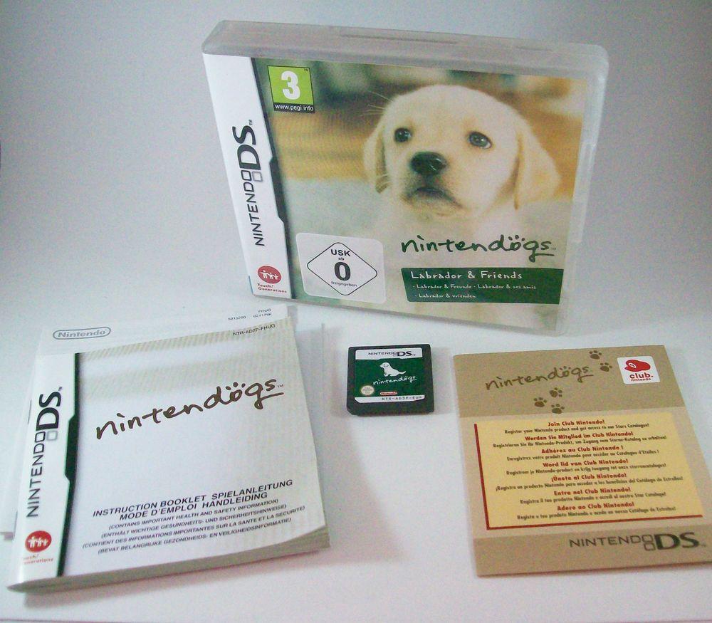 Nintendogs Labrador Friends Nintendo Ds Nds Komplett Mit