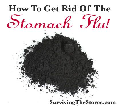 How to get rid of a stomach bug FAST!! or How to use activated charcoal to get rid of (or shorten) the stomach flu!