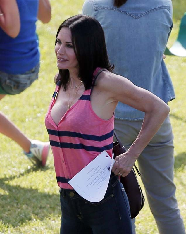 Courtney cox hot not tell