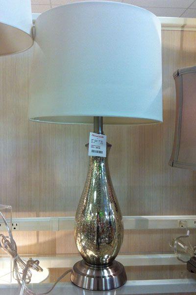 Homegoods Mercury Gl Lamp