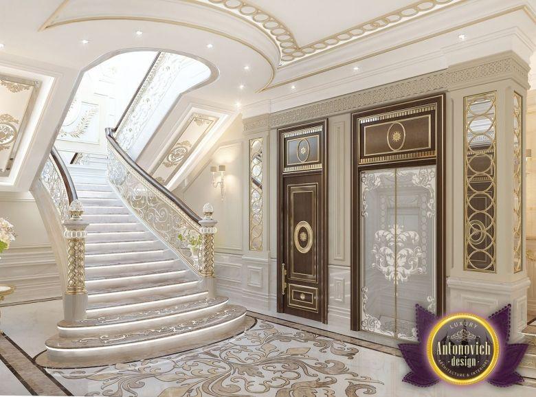 Elegant Villa Interior Design In Dubai, Saudi Arabia Madina Monaowara, Photo 2