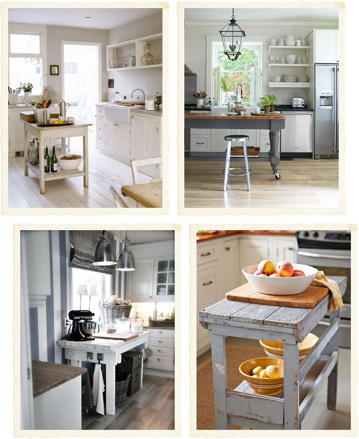 75 Most Popular Shabby-Chic Style Kitchen with Turquoise Cabinets ...