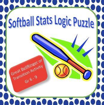Softball Statistics Logic Puzzle Critical Thinking Calculating Batting Average Logic Puzzles Critical Thinking Developing Critical Thinking Skills
