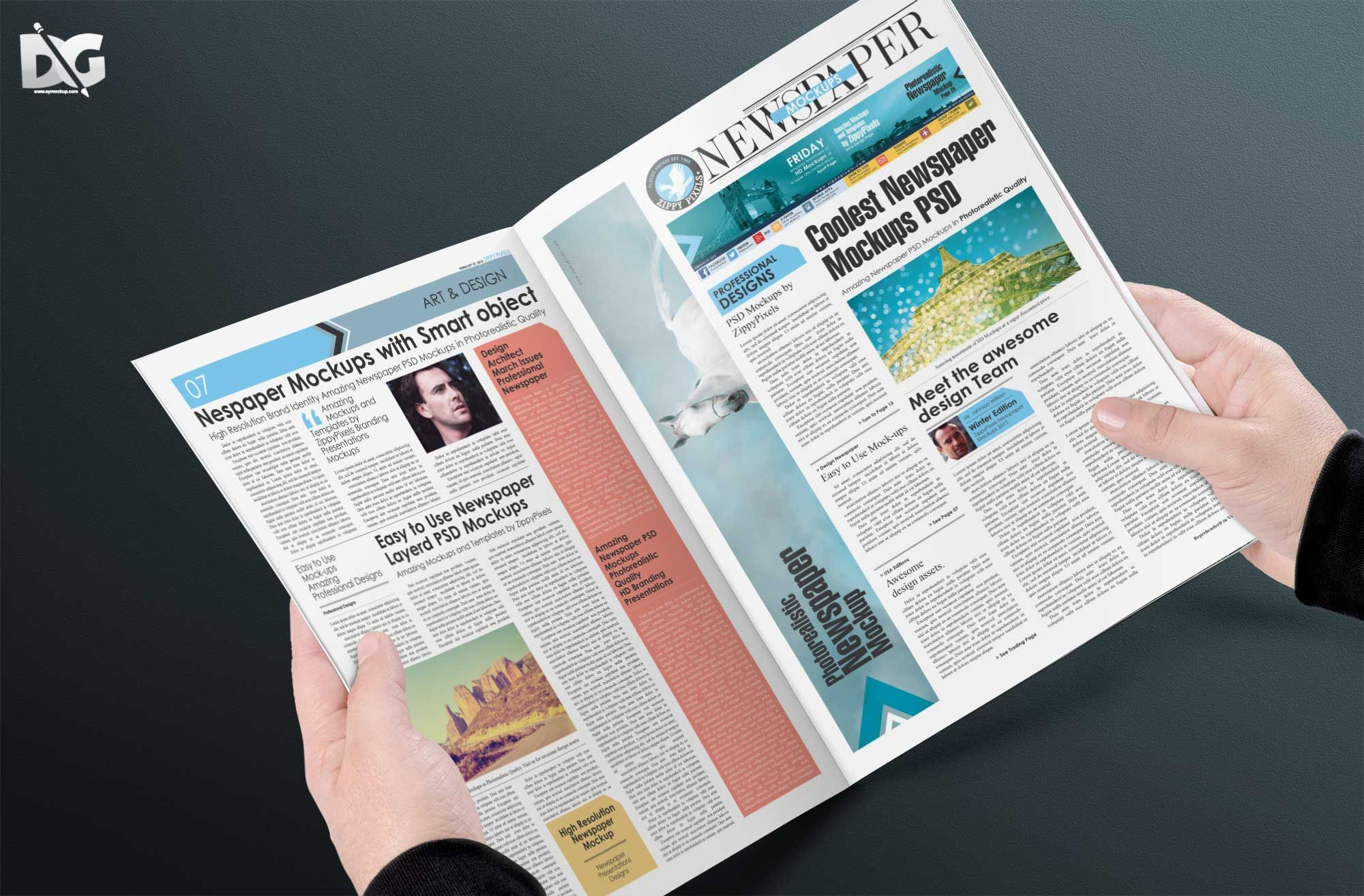 Free Download Psd News Magazine Pages Mockup Free Logo Mockup Mockup Mockup Free Download