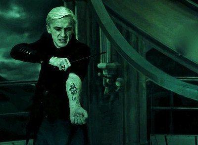 Dark Mark Temporary Tattoo Harry Potter by CrookedHaloDesigns, $4.75