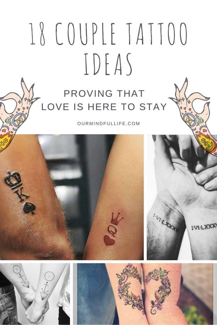 112 Hopelessly Romantic Couple Tattoos That Are Better Than A Ring