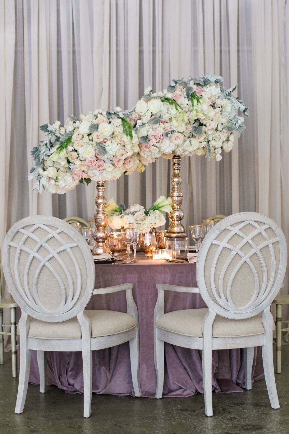 6 Ideas For Your Blush Wedding This Fall Fall Wedding Table