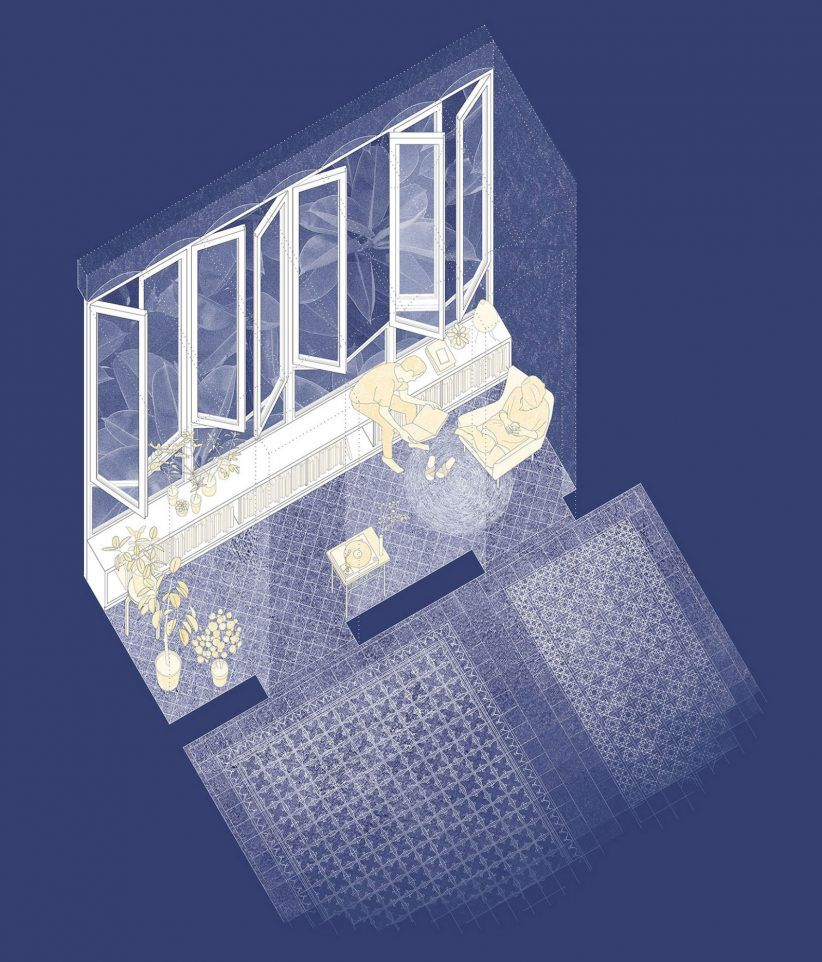 Key Projects By Emerging Spanish Studio Bonell Doriga Key Projects Japanese Architect Architecture Painting