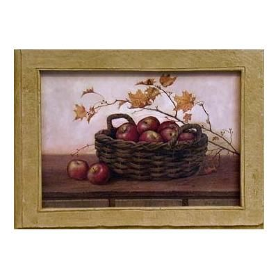 Winesap & Maples Faux Stone Frame by Belle Arte on HomePortfolio