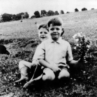 Paul McCartney and brother Micheal