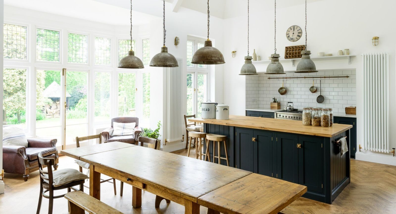 Putting a Sofa In Your Kitchen Is Officially a Thing | Rustic ...