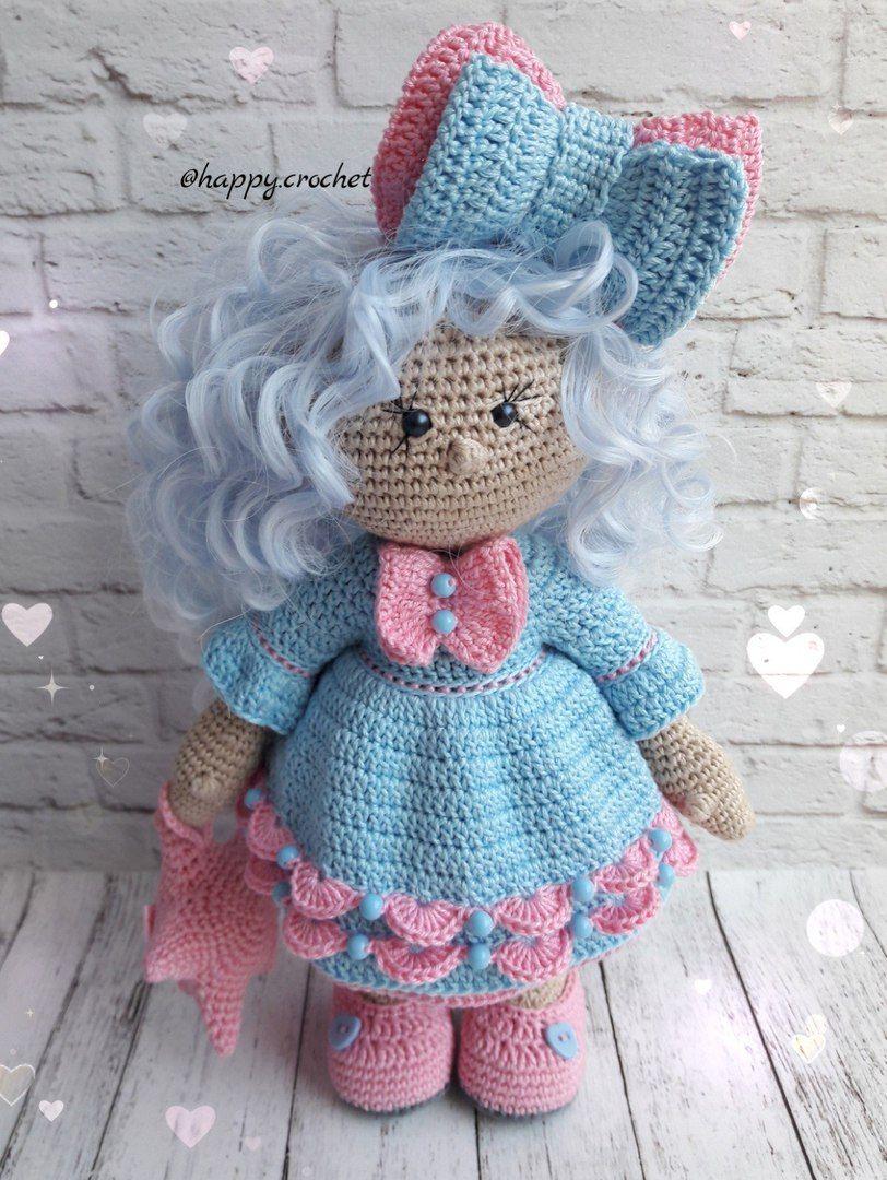 Pin von Norma Hollands auf Muñecas Amigurumis | Pinterest | Puppe ...