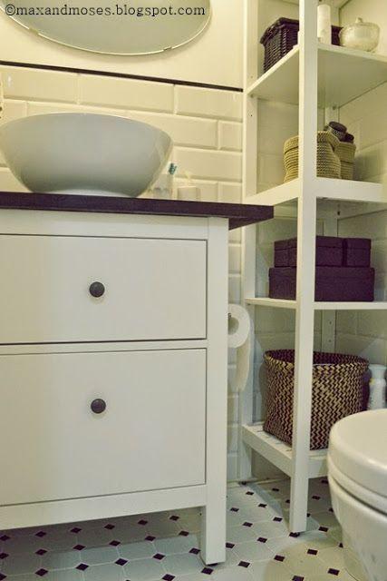 My Customized Hemnes Small Bathroom Vanity Ikea Hackers Ikea