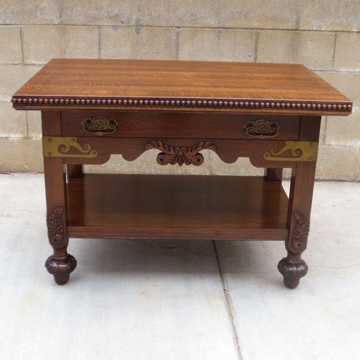 Uncategorized Antique Work Desk american antique table work center furniture