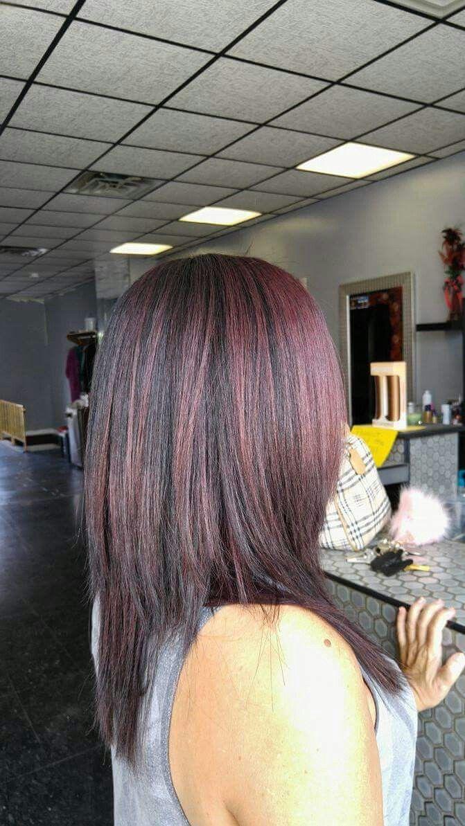 Chocolate Covered Cherry Hair My Life Pinterest Cherry Hair