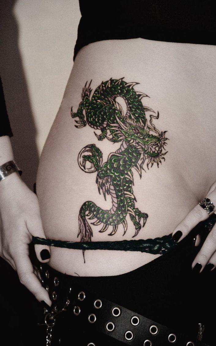 Dragon Tattoo For Girls Dragon Tattoo For Women Dragon Tattoo Designs Dragon Tattoo Images