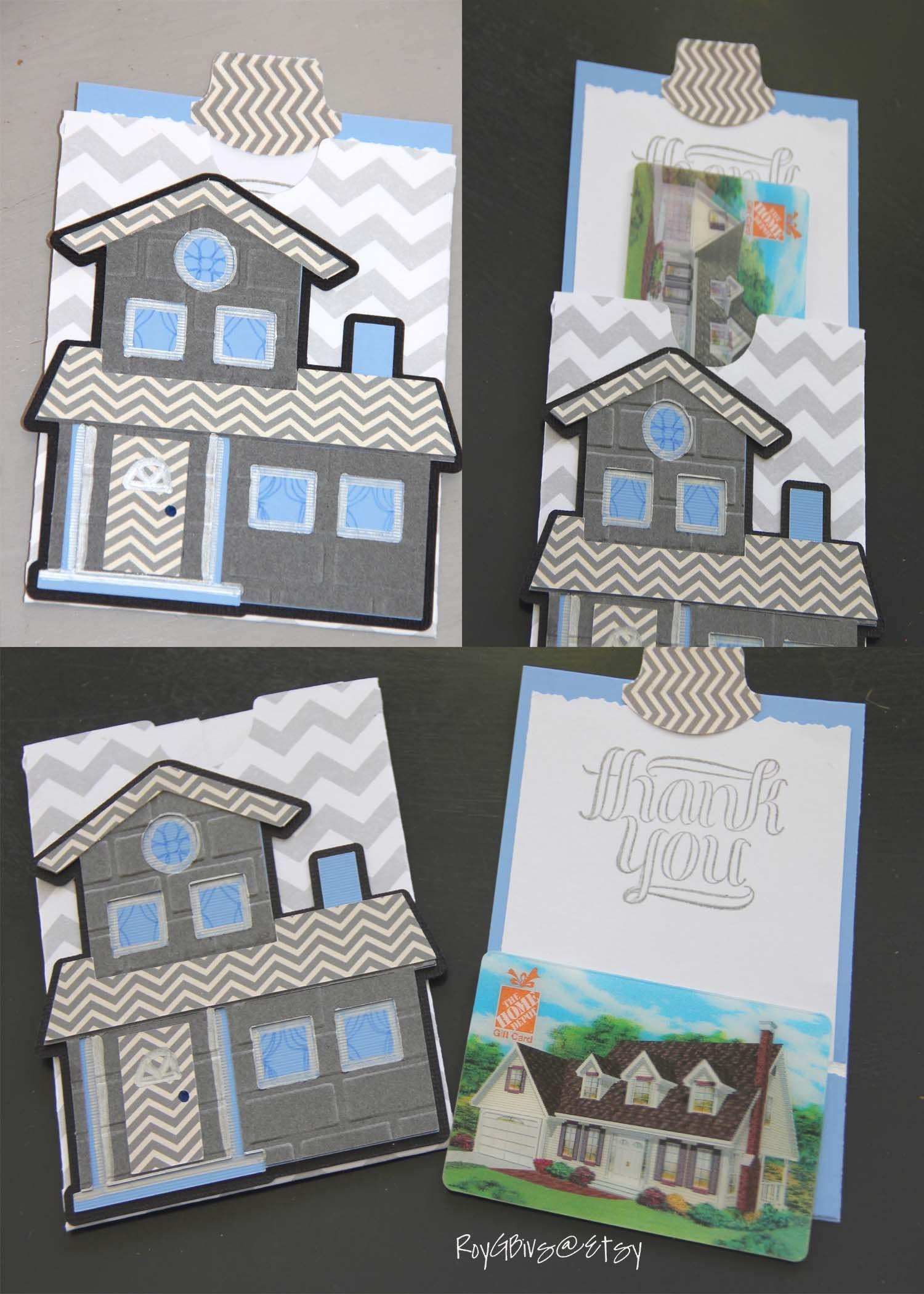 Home Greeting Card Gift Card Pocket