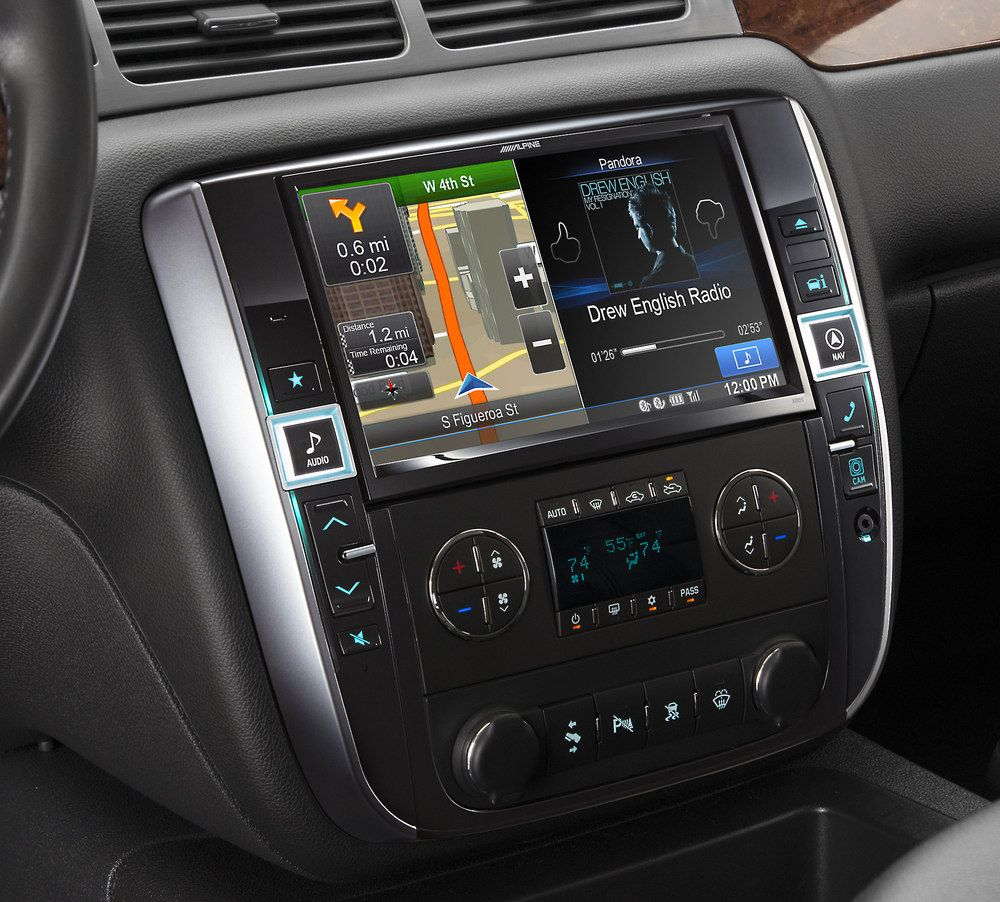 Live Larger With This 9 Touchscreen Receiver You Like To Live Large With Your Gm Vehicle Why El Chevy Tahoe Interior Chevy Accessories Chevy Avalanche