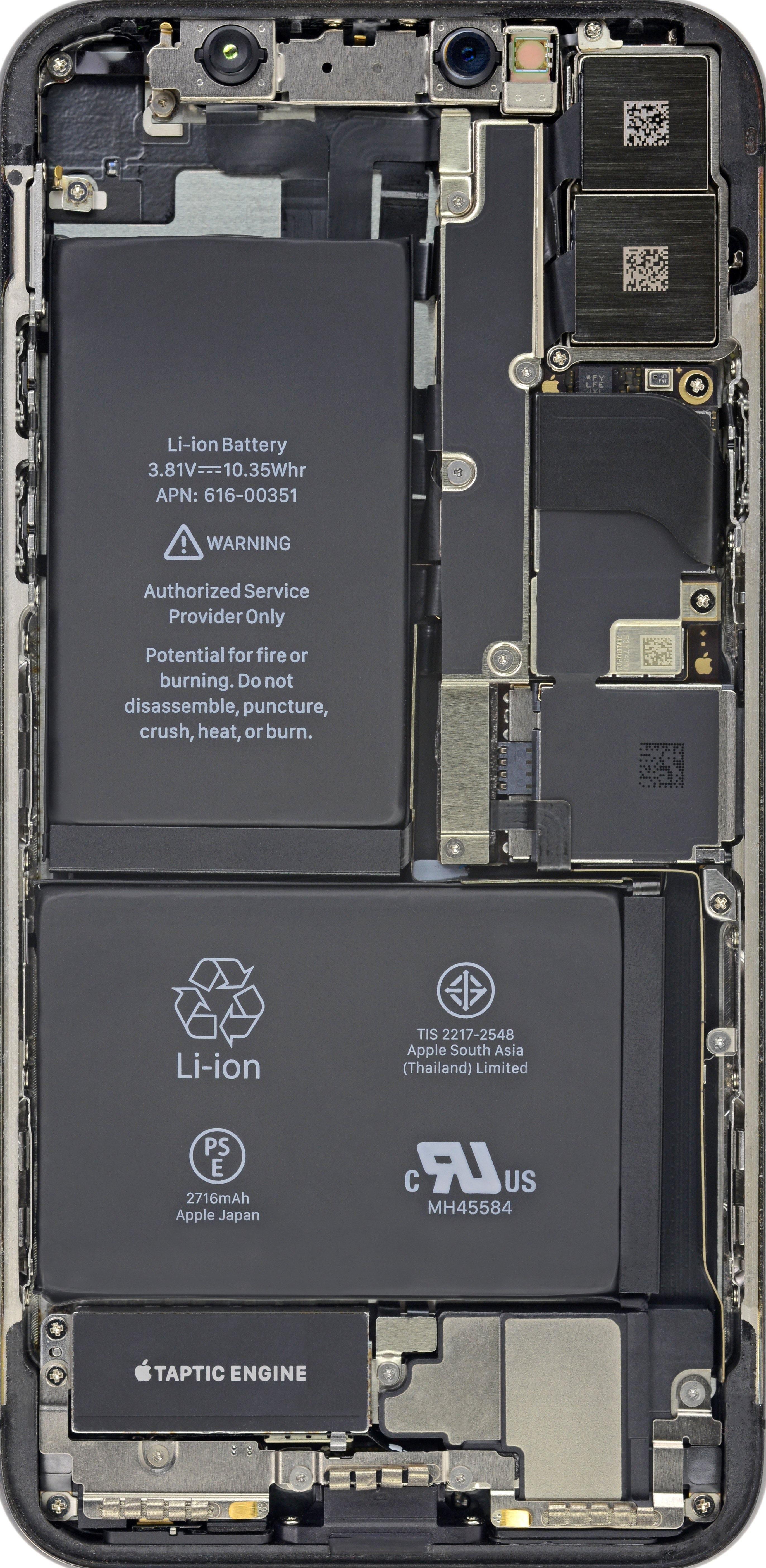 Inside Iphone X Wallpaper