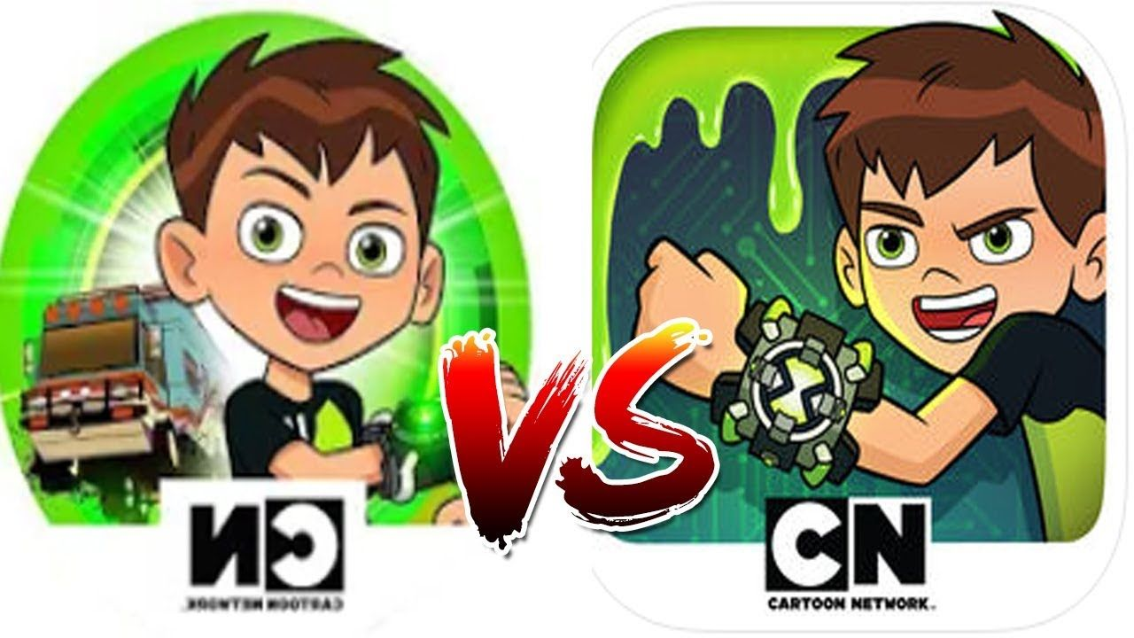 Super Slime Ben 10 Vs Ben 10 Alien Race (Cartoon Network