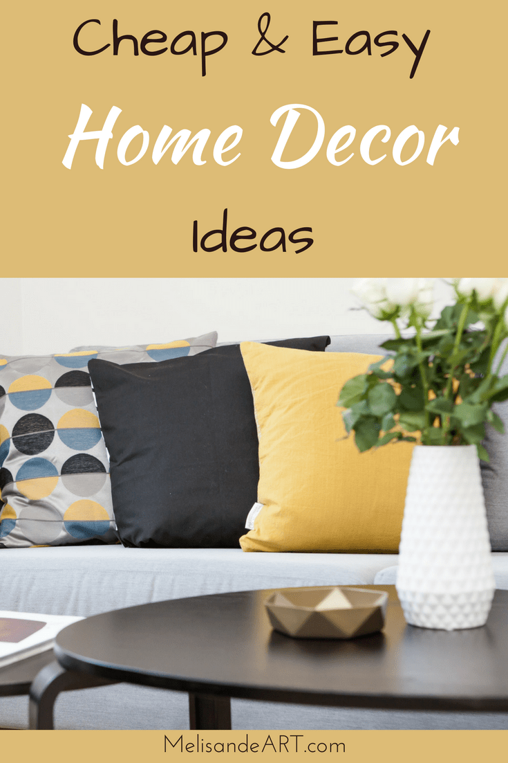 7 Quick, Easy & Cheap Ways to Update Your Home Decor | Living room ...
