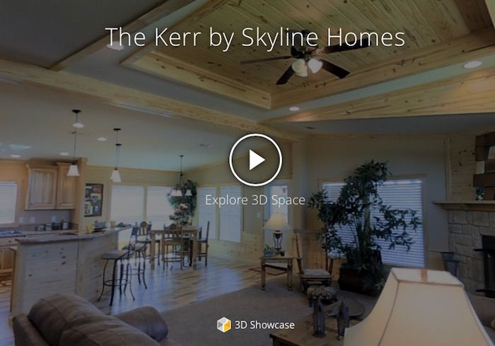 Take A 3d Tour Of The Kerr By Skyline Homes Of Mansfield Texas