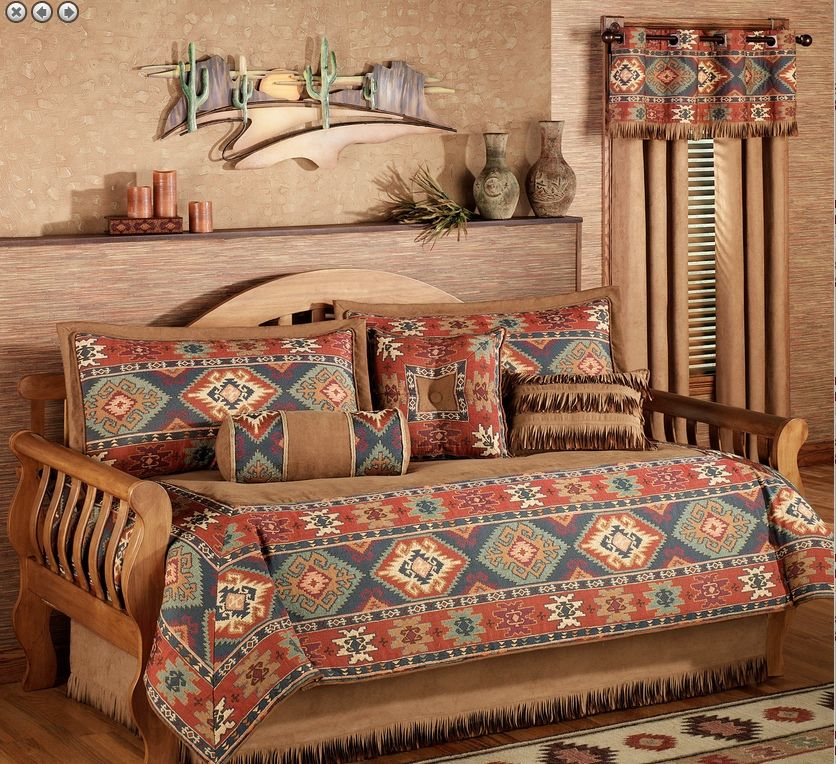 Trundle Bed Covers Cabin Gameroom Daybed Bedding