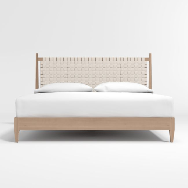Rio King Bed Reviews Crate And Barrel In 2020 King Beds Scandinavian Bed Frames Modern King Bed