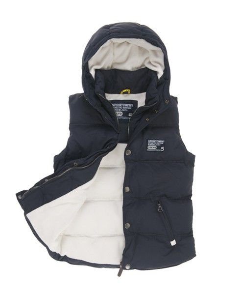 cozy.... Superdry Hooded Camping Vest   What is fashion anyway ... a5095d57e0