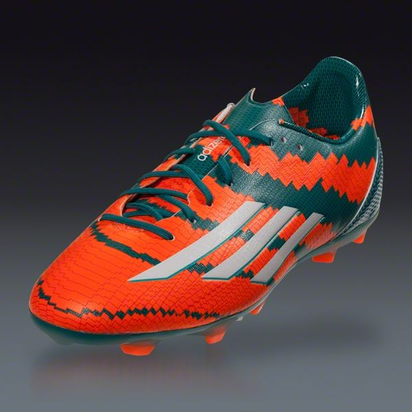 107180de2 Buy adidas Messi 10.1 FG Junior - Power Teal White Solar Orange Firm Ground  Soccer Shoes on SOCCER.COM. Best Price Guaranteed.
